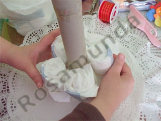 Manualidades e ideas para Baby Shower: pañalera-851