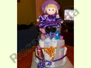 Manualidades e ideas para Baby Shower: pañalera-862