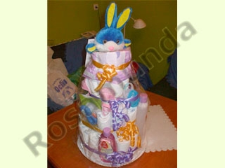 Manualidades e ideas para Baby Shower: pañalera-863